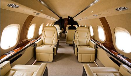 Global 6000 interior